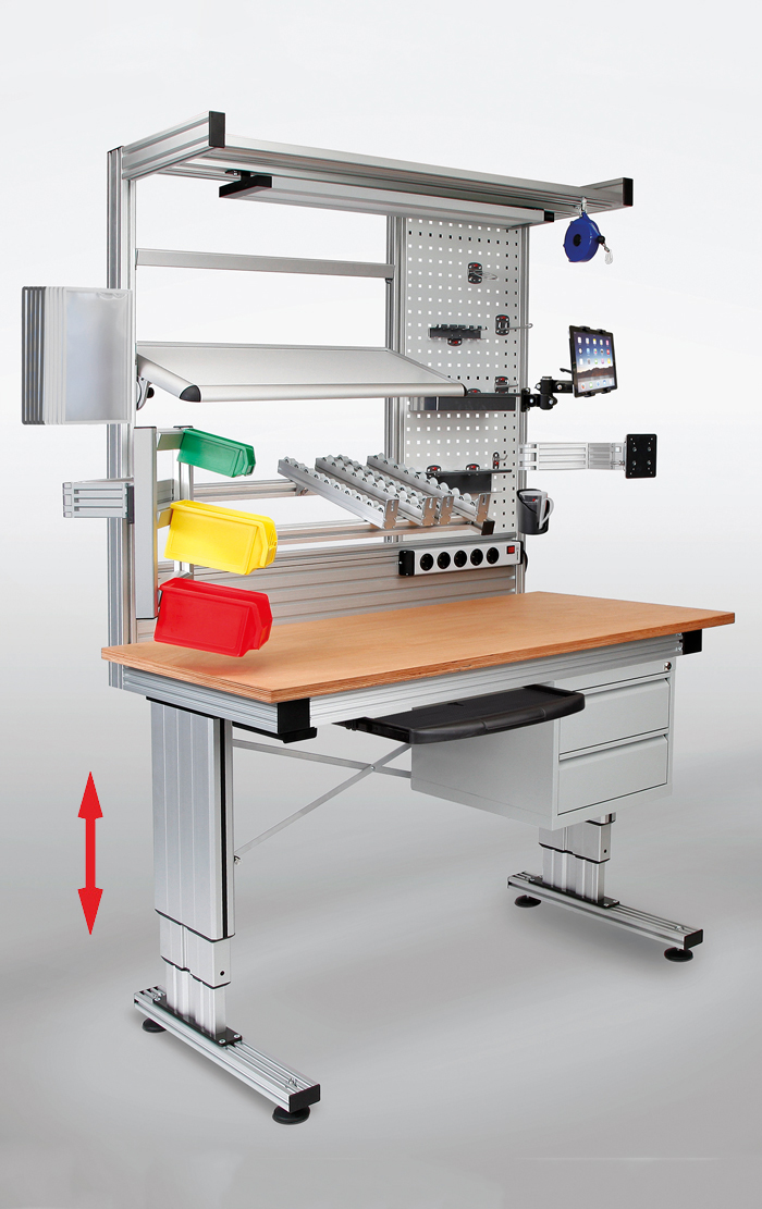 Ergonomic Assembly Workstation : Work tables · phoenix mecano ltd
