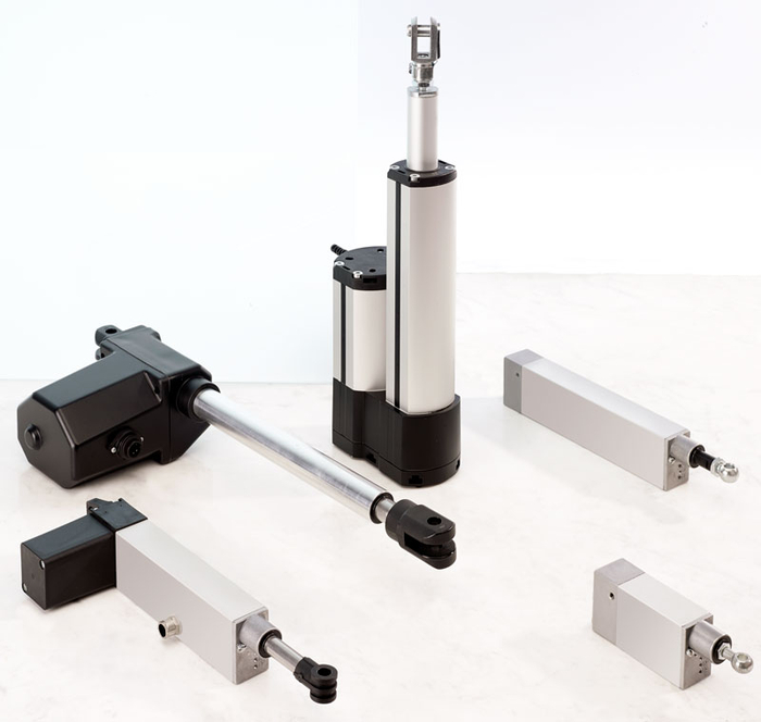 Electric cylinders for industrial applications